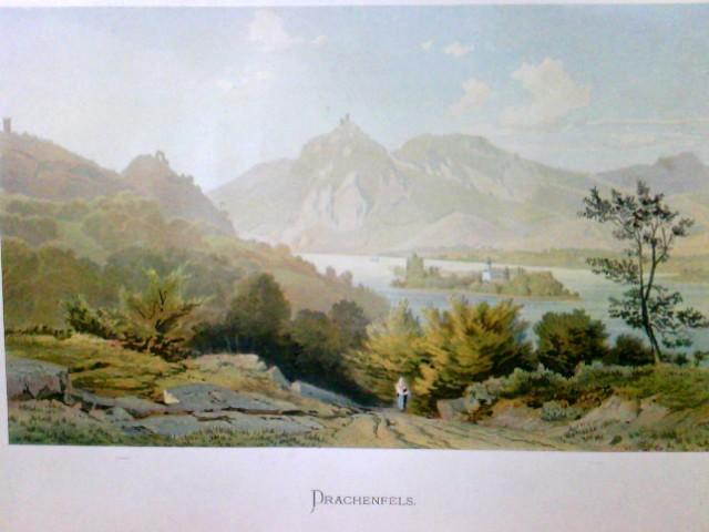 Drachenfels, (Siebengebirge), Nordrhein-Westfalen, Rhein,