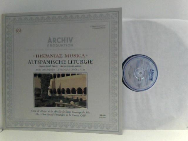 Coro De Monjes De La Abadía De Santo Domingo De Silos*,  Dom Ismael Fernández De La Cuesta*  – Altspanische Liturgie (Ancient Spanish Liturgy);Misa Mozarabe; Melodias Liturgicas