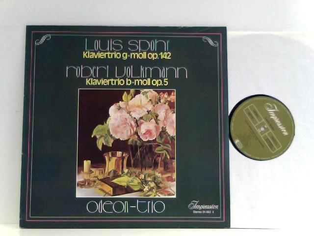Spohr, Louis und Robert Volkmann: Odeon Trio,  Louis Spohr,  Robert Volkmann – Klaviertrio G-moll Op. 142 / Klaviertrio B-moll Op. 5