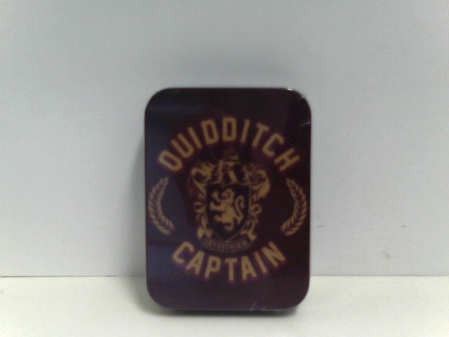 harry potter Metallkollektoren Blechdose Quidditch Kapitan Emblem Wappen offizielle