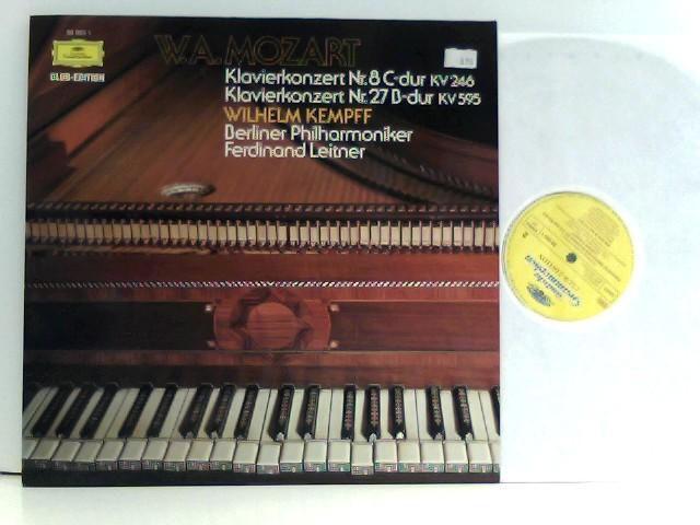 W.A.Mozart,  Berliner Philharmoniker,  Ferdinand Leitner – Klavierkonzert Nr. 8 C-dur KV 246 / Klavierkonzert Nr. 27 B-dur KV 595