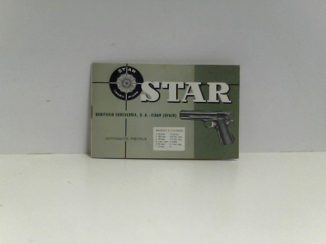 o.A.: STAR Automatic Pistols