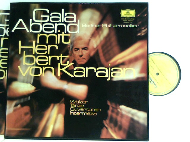 Berliner Philharmoniker,  Herbert von Karajan – Gala-Abend Mit Herbert Von Karajan - Walzer, Tänze, Ouvertüren, Intermezzi