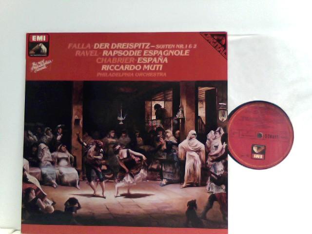 Falla* /  Ravel* /  Chabrier*  – Der Dreispitz (Suiten Nr. 1 & 2) / Rapsodie Espagnole / España