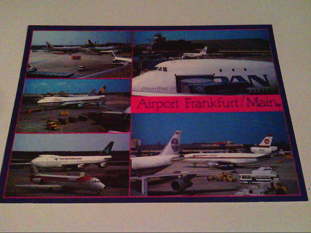 AK. Airport Frankfurt / Main.