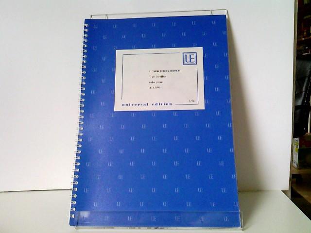 Five Studies - Solo Piano - Universal Edition UE 12995