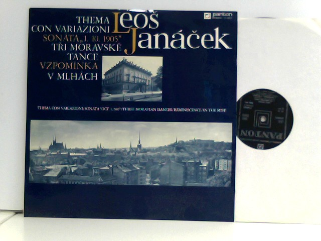 "Leoš Janácek,  Radoslav Kvapil  – Thema con Variazioni Sonata 1. X. 1905"""