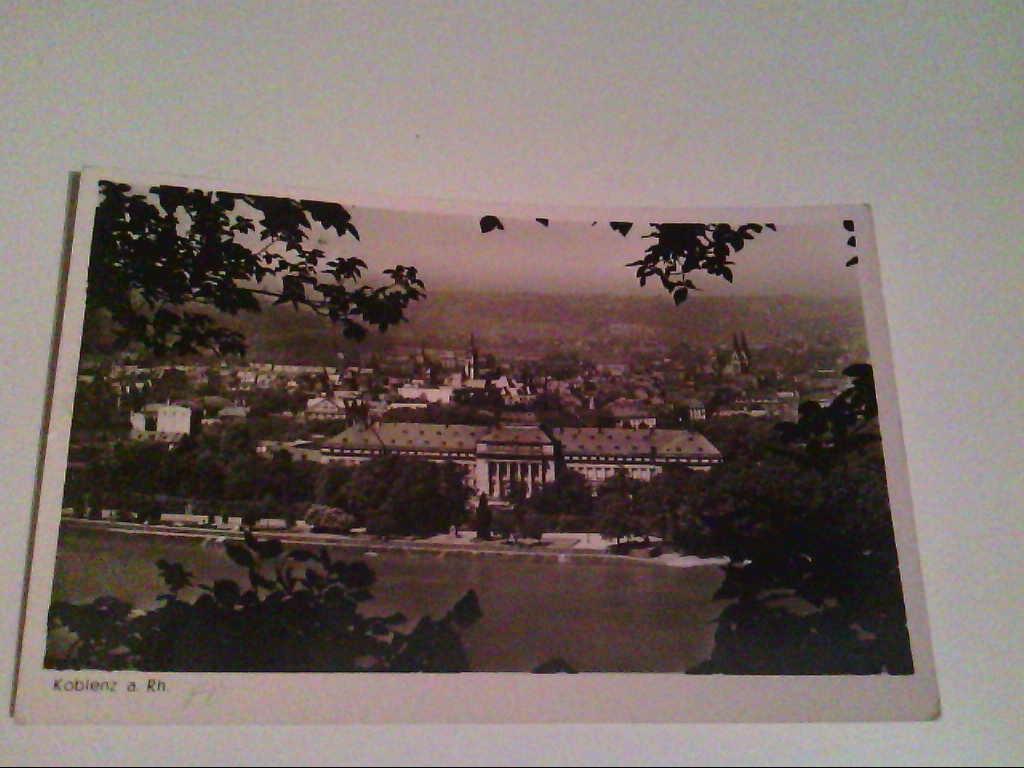 AK. Koblenz am Rhein. Schloss.