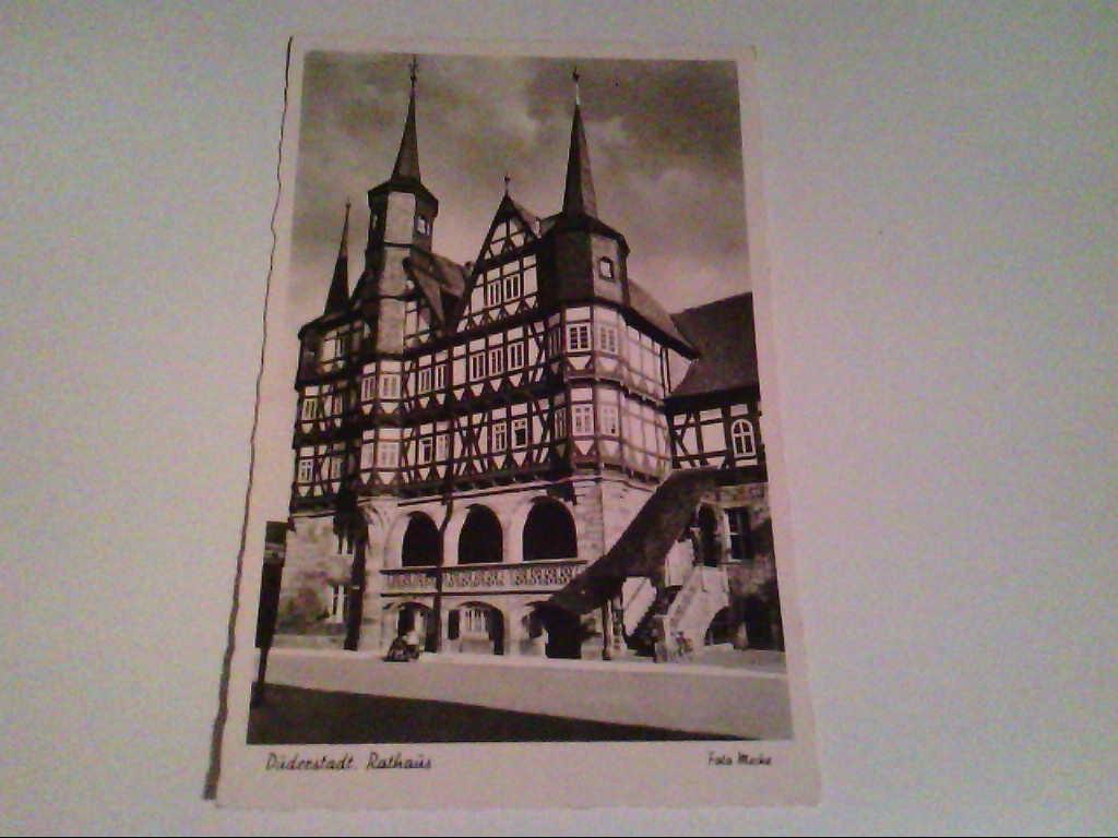 AK. Duderstadt. Rathaus.