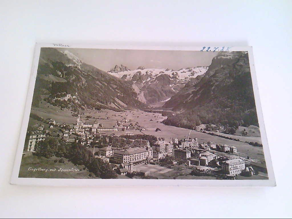 AK. Schweiz. Engelberg. Spannörter.
