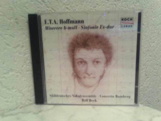 Miserere b - moll / Sinfonie Es - dur / Süddeutsches Vokalensemble - Concerto Bamberg - Rolf Beck