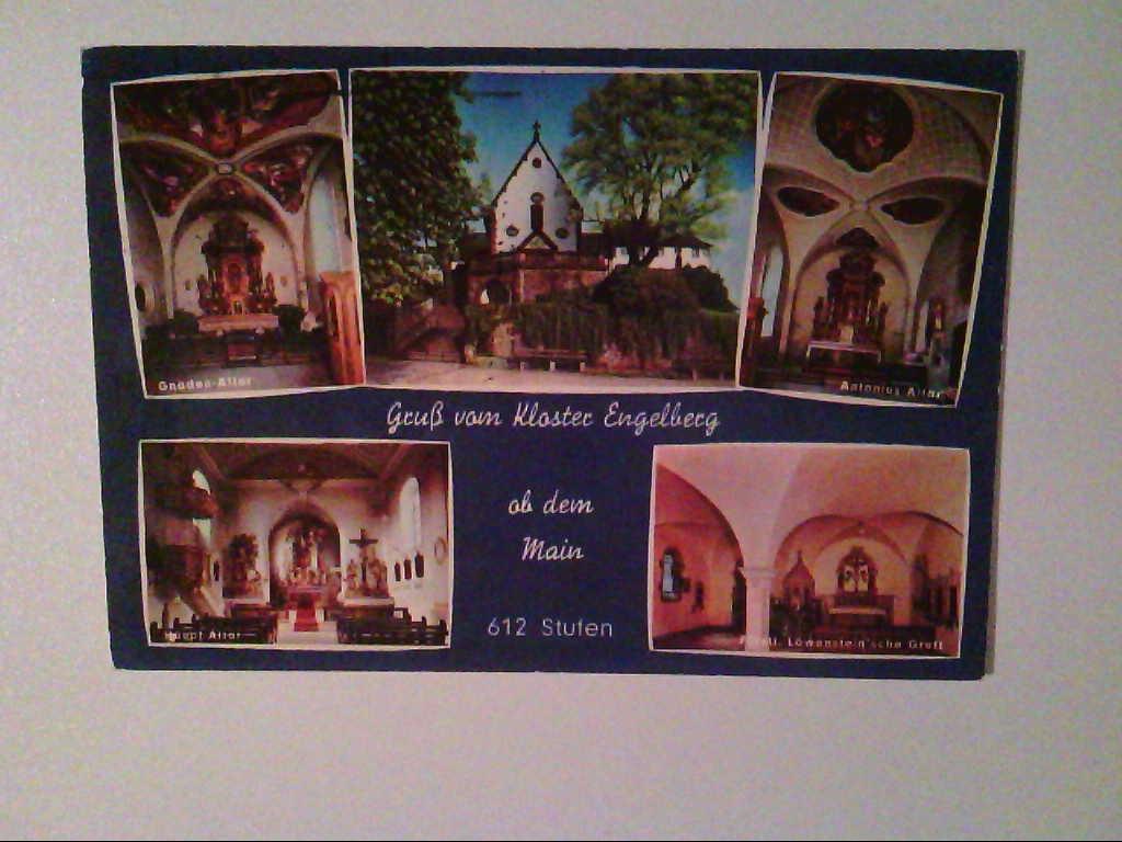 AK. Kloster Engelberg. Mehrbildkarte mit 5 Abb.
