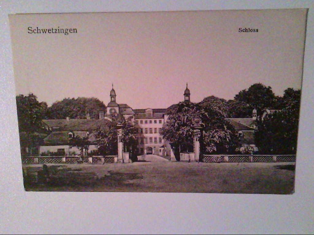AK. Schwetzingen. Schloss.