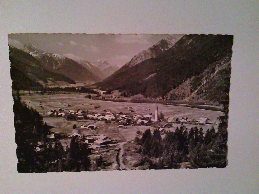 AK. Elmen. Oberlechtal/Tirol. Österreich. s/w.