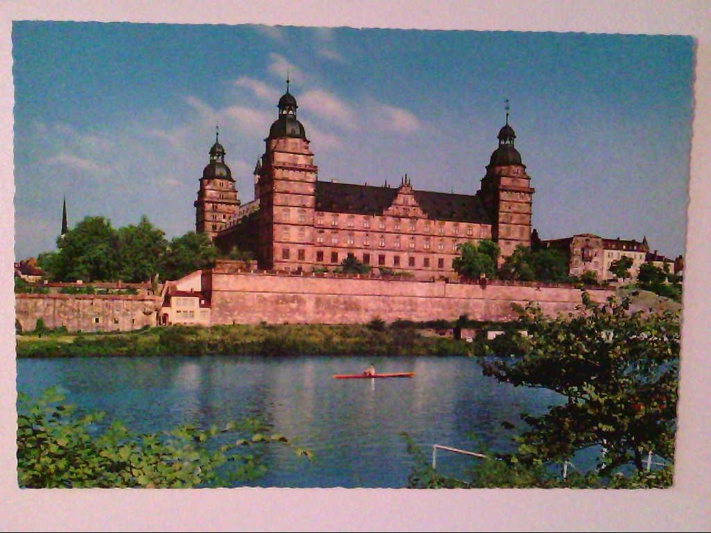 AK. Aschaffenburg am Main. Schloß.