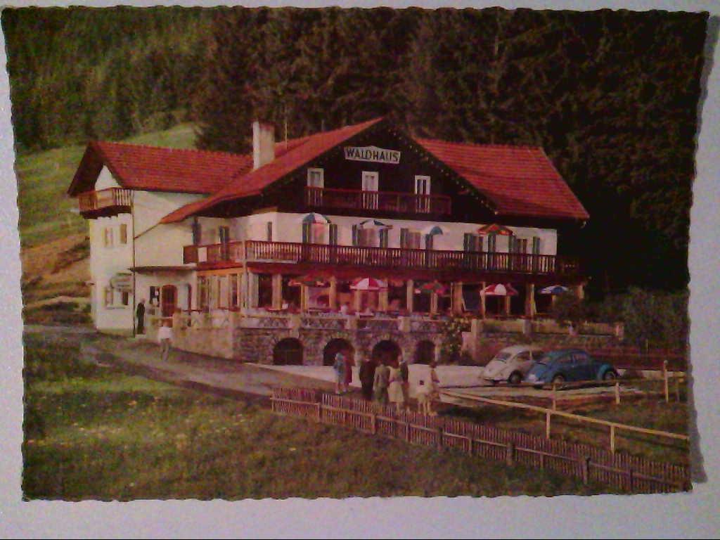 AK. Hotel - Waldhaus Bodenmais.