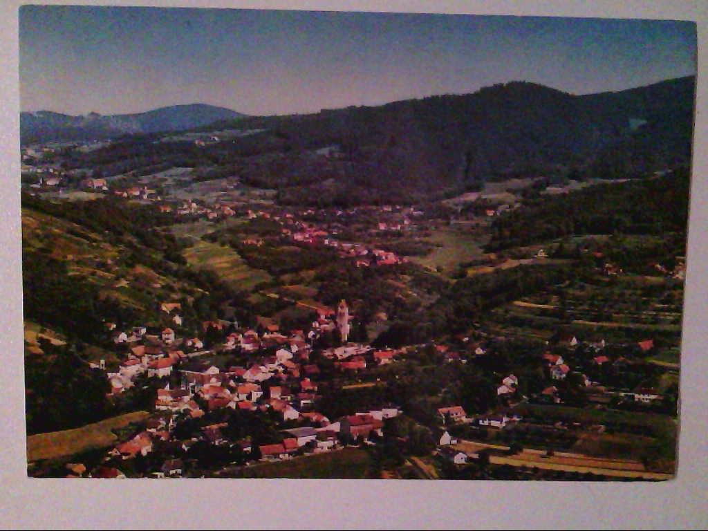 AK. Bühl-Neusatz. Schwarzwald. Luftaufnahme.
