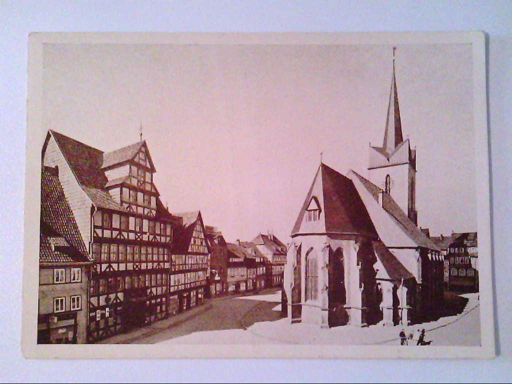 AK. Duderstadt. Untere Marktstraße.