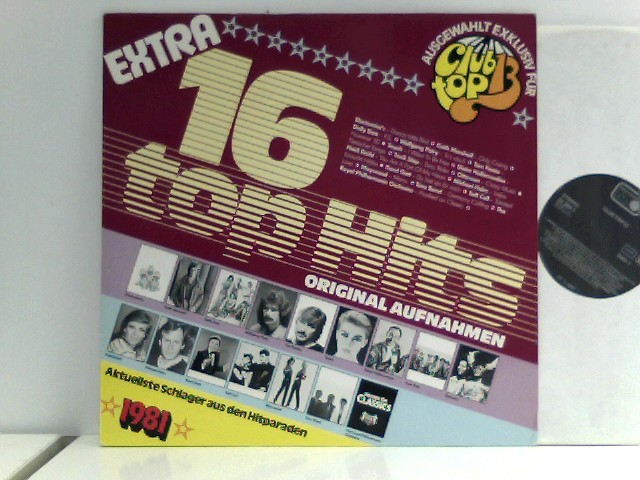 Various: 16 Top Hits - Extra 1981