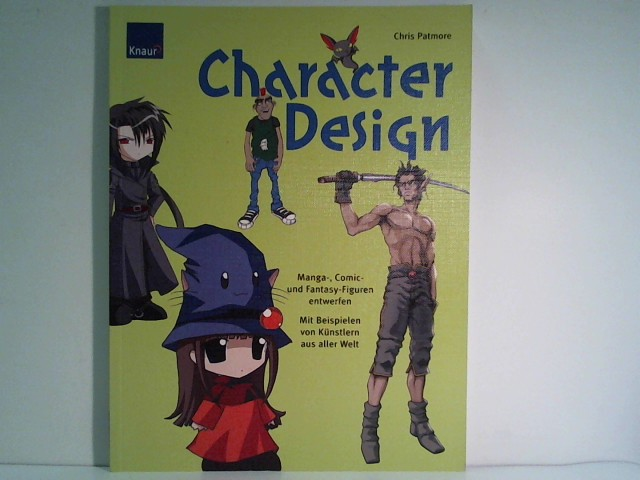 Character Design: Manga-, Comic- und Fantasyfiguren entwerfen