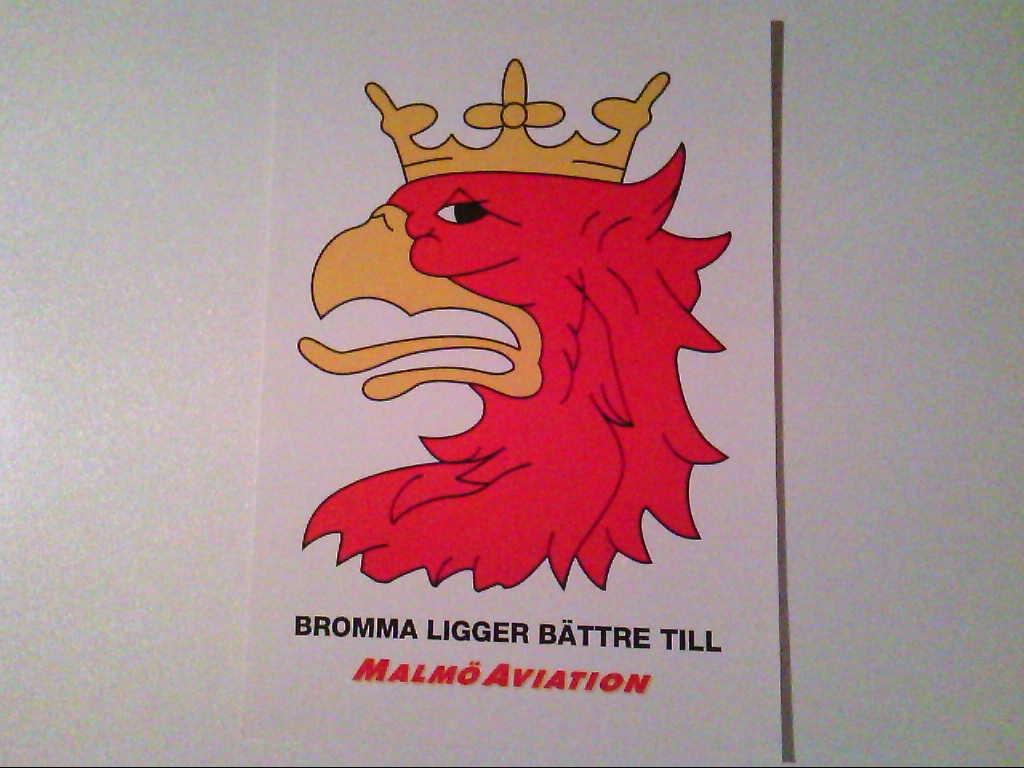 AK. Malmö Aviation. Logo.