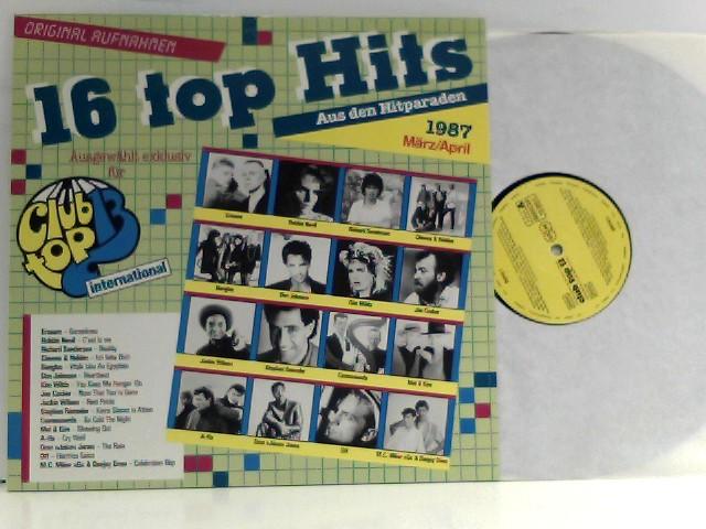 16 Top Hits International März/April 1987