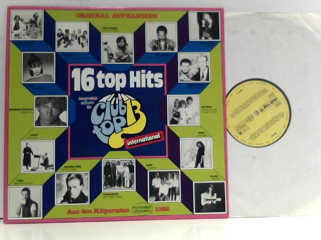 16 Top Hits - November/Dezember 82