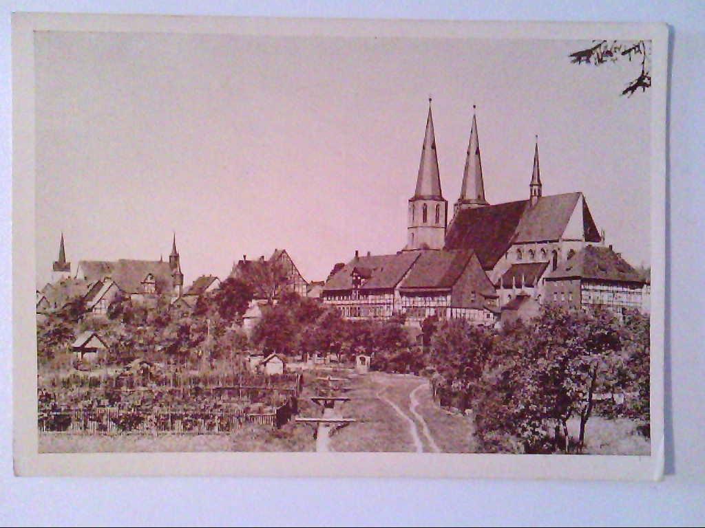 AK. Duderstadt. Blick vom Stadtwall.