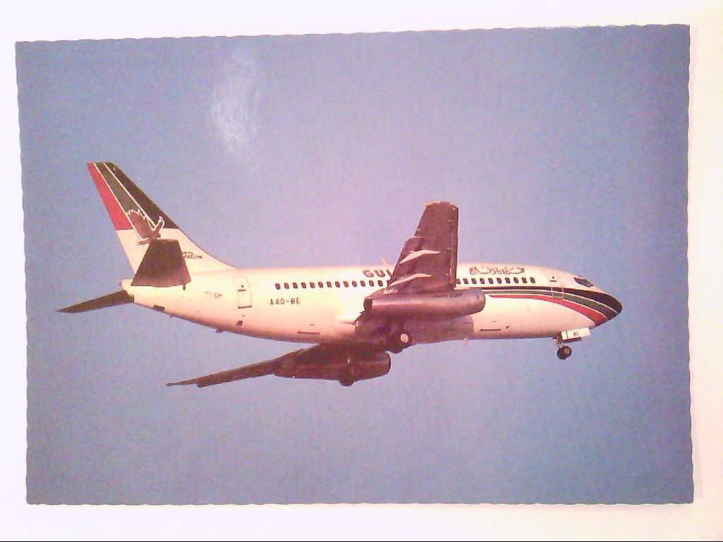 AK. Gulf-Air. Boeing 737.