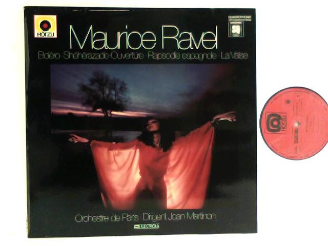 Orchestre De Paris /  Jean Martinon  – Boléro - Shéhérazade-Ouvertüre - Rapsodie Espagnole - La Valse
