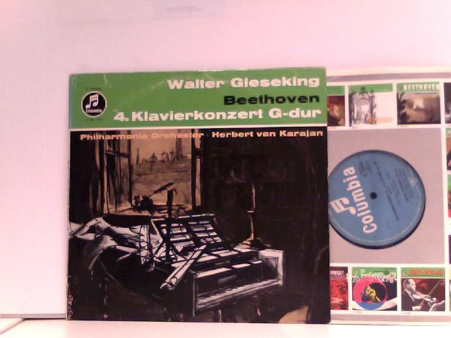 Philharmonia Orchester*,  Herbert von Karajan  – 4. Klavierkonzert G-dur