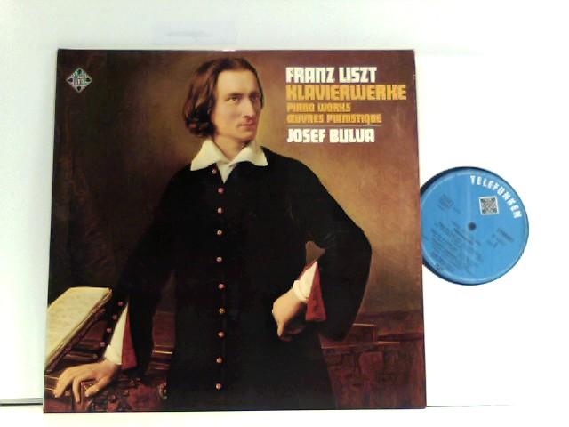 Liszt, Franz und Josef Bulva: Berühmte Klavierwerke - Famous Piano Works