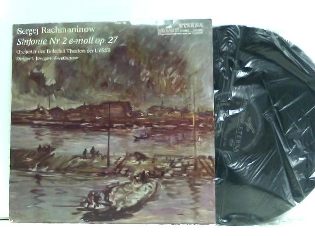 Rachmaninow, Sergej: Symphony No. 2 E-Moll op.27. Orchester des Bolschoi Theaters der UdSSR