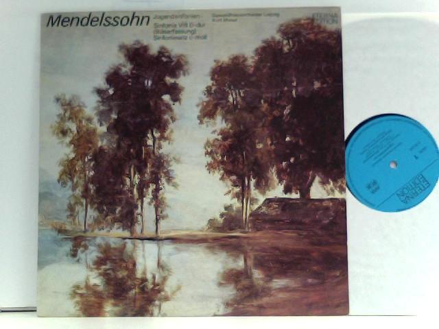 Mendelssohn-Bartholdy, Felix und Kurt Masur: Gewandhausorchester Leipzig – Jugendsinfonien: Sinfonia VIII D-dur (Bläserfassung), Sinfoniesatz C-moll