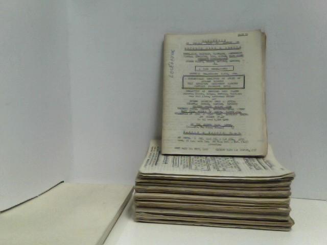 Konvolut von 15 Auktionskatalogen Wallis & Wallis (sale 53 - 67), 1958 und 1959