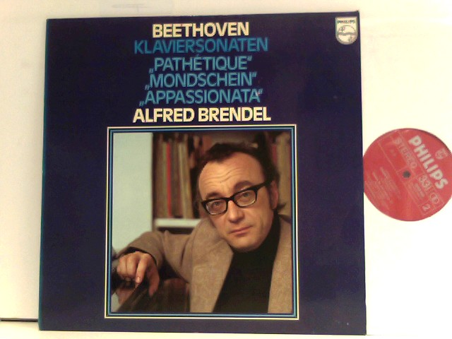 """Alfred Brendel  – Klaviersonaten """"Pathetique"""" - """"Mondschein"""" - """"Appassionata"""""""