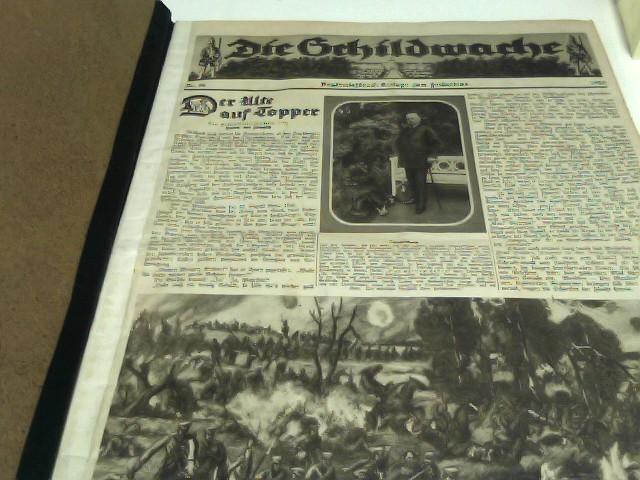 """Konvolut """"Die Schildwache"""" (Beilage zum """"Fridericus""""):  1924: Nr. 36 - 52, 1925: komplett Nr. 1 - 52, 1926 Nr. 1 - 37"""
