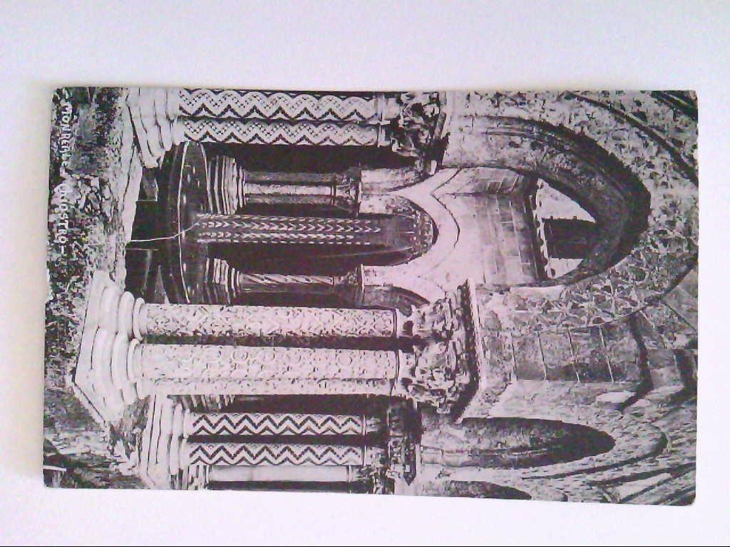 AK. Monreale. Kloster. Italien. s/w.