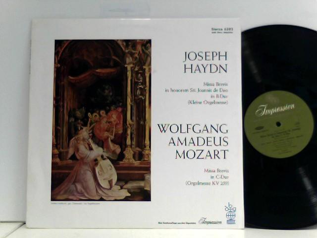 Hans Haselböck,  Hans Gillesberger  – Organ Solo Mass / Little Organ Mass
