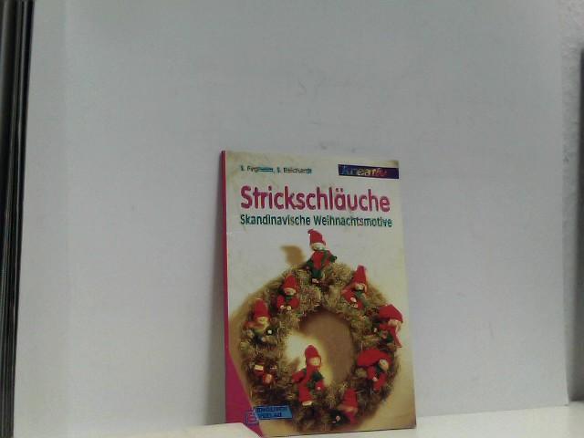 Strickschläuche. Skandinavische Weihnachtsmotive