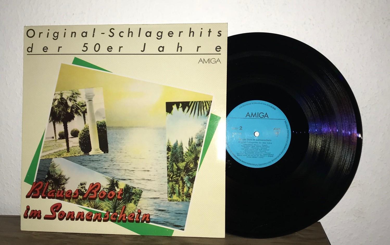 Various: Blaues Boot Im Sonnenschein - Original-Schlagerhits Der 50er Jahre