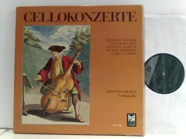 Cellokonzerte VIVALDI TARTINI STAMITZ