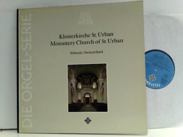Die Alte Orgel Serie - Historische Orgel der Klosterkirche in St. Urban / Schweiz