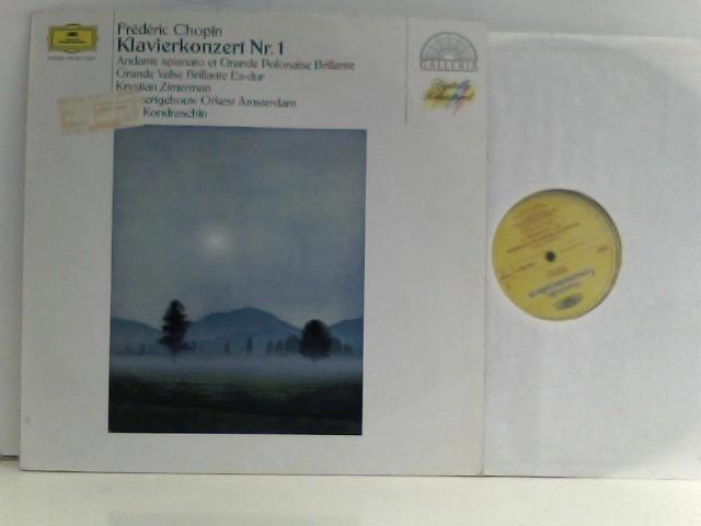 Klavierkonzert Nr. 1 - Andate spianato et Grande Polonaise Brillante - Krystian Zimermann - Kyril Kondraschin