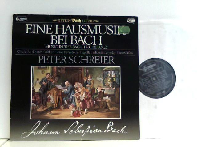 Gisela Burkhardt •  Capella Fidicinia Leipzig* • Peter Schreier • Hans Grüss – Eine Hausmusik bei Bach