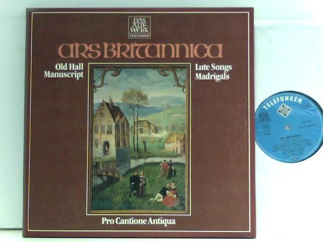 Ars Britannica - Old Hall Manuscript - Lute Songs Madrigals