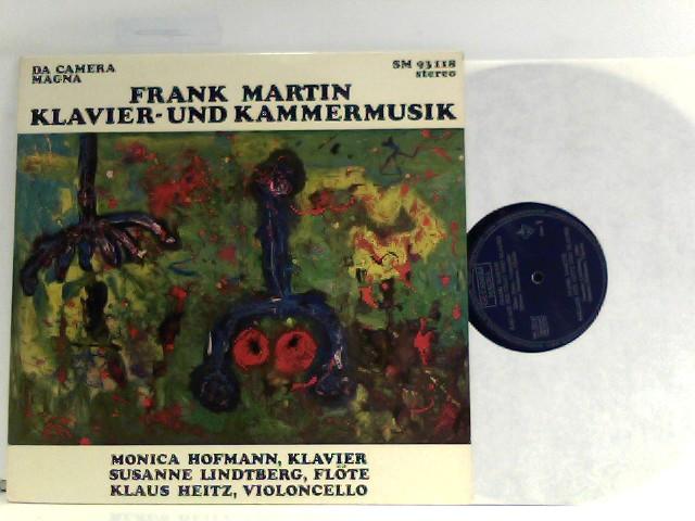 Klavier- und Kammermusik / Monica Hofmann - Klavier, Susanne Lindtberg - Flöte, Klaus Heinz - Violoncello