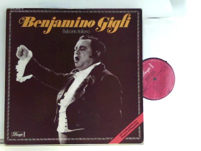 Belcanto Italiano - Das Benjamino Giglio Album