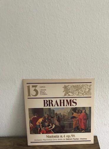 Brahms* - Dietrich Fischer-Dieskau / Orchestra Filarmonica Ceca: Sinfonia No. 4 In Mi Minore Op. 98