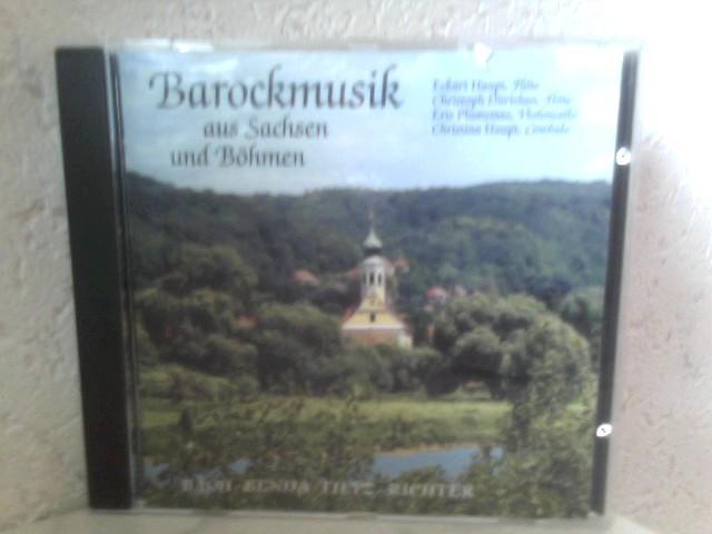 Dürichen, Christoph, Eckart Haupt Christina Haupt u. a.: Barockmusik aus Sachsen und Böhmen